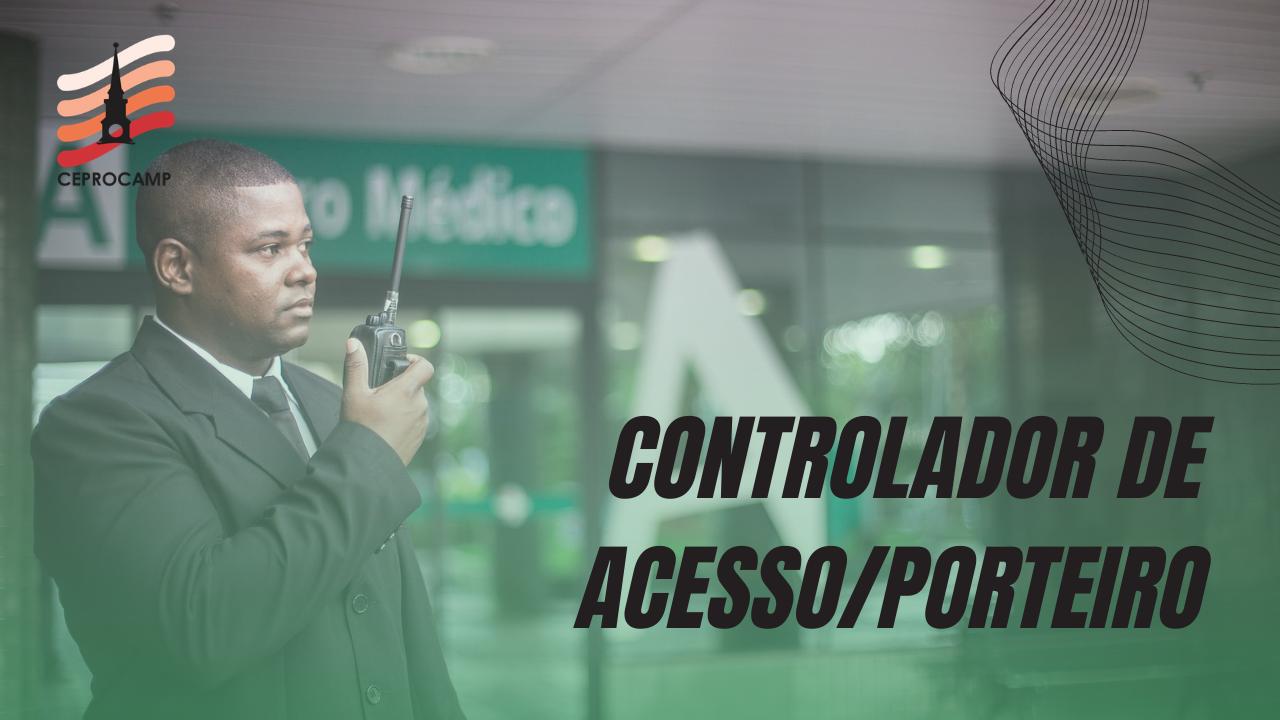 curso gratuito de controlador de acesso ou porteiro